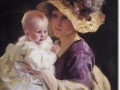 www.encore-editions.com William Henry Cotton - Anya és gyermeke 1911