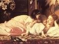www.ipaintingsforsale.com Lord Frederick Leighton Anya és gyermeke