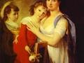 www.oceansbridge.com Anna Muravyova Apostol fiával, Mathew-val és leányával, Catherine-nel 1799