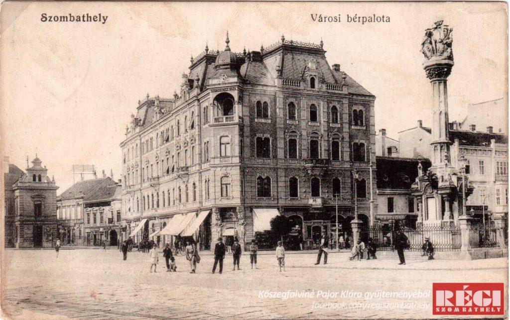 Fő tér   Kőszegfalviné Pajor Klára gyűjteményéből