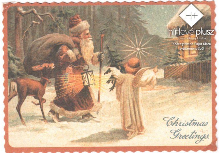 Karácsony képes-levelezőlapokon (1.) – Így terjedt el a karácsonyi üdvözlőlap
