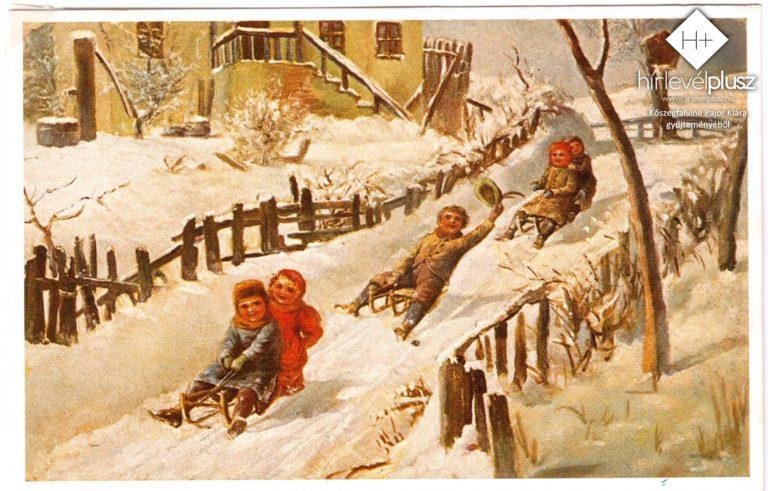 Karácsony képes-levelezőlapokon (2.) – Így terjedt el a karácsonyi üdvözlőlap