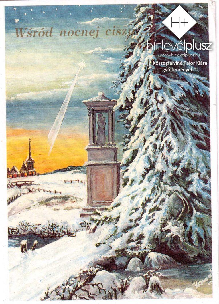 Karácsony képes-levelezőlapokon (3.) – Karácsonyi motívumok I.