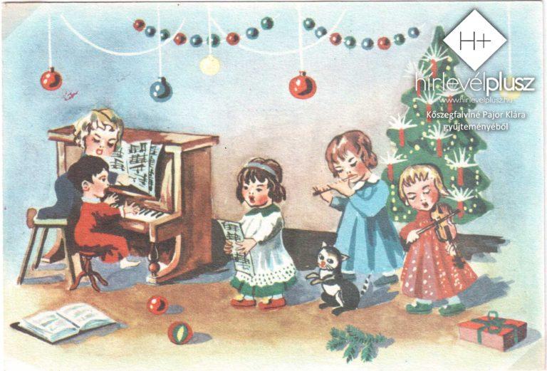 Karácsony képes-levelezőlapokon (4.) – Karácsonyi motívumok II.