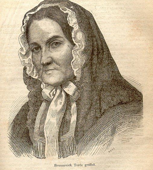 Brunszvik Teréz (forrás: wikipédia.hu)