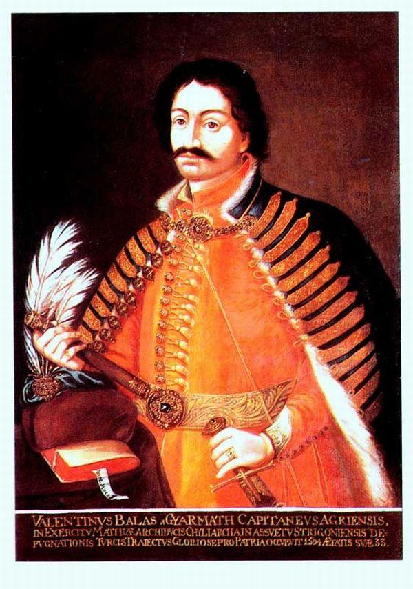 Balassi Bálint (forrás: www.magyarszotar.blog.hu)