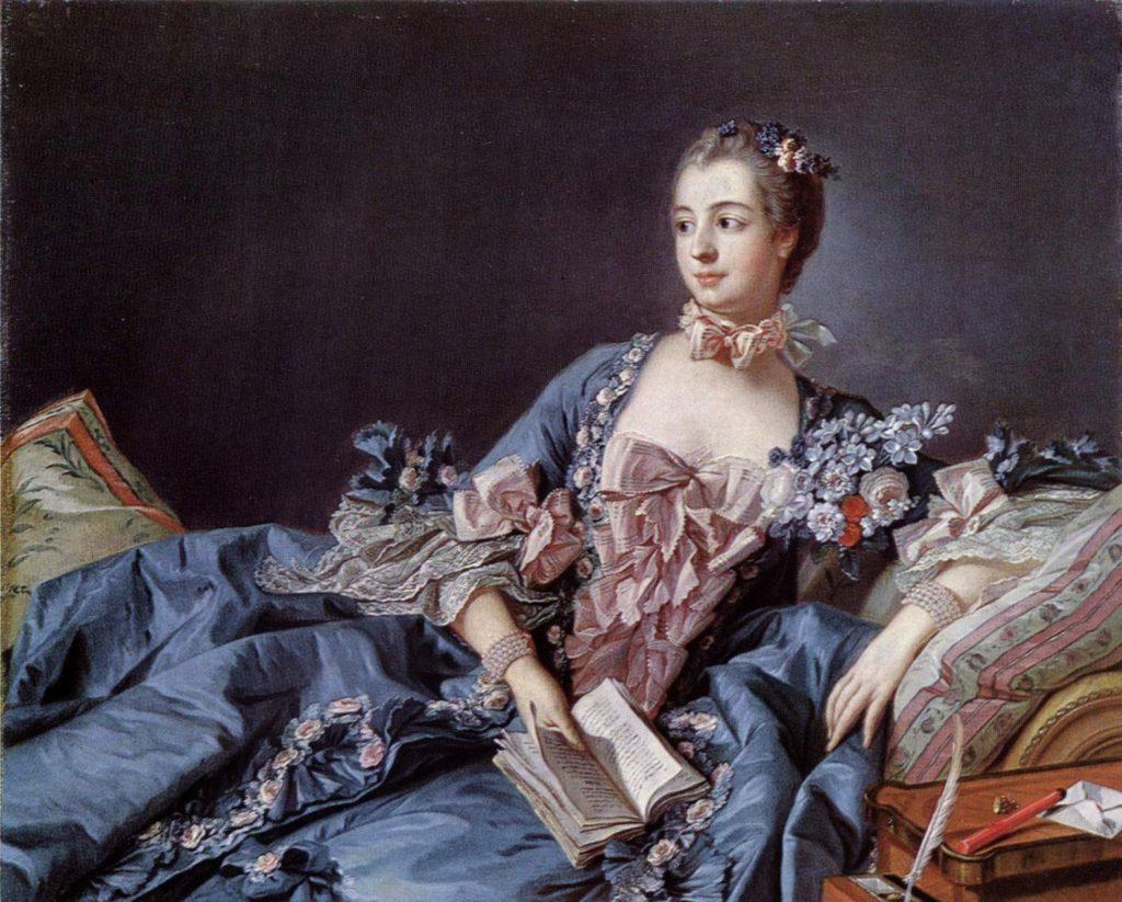 Madame Pompadour (forrás: vestuarioescenico.wordpress.com)