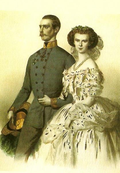 A császári pár (Forrás: lamiastellina.altervista.org)
