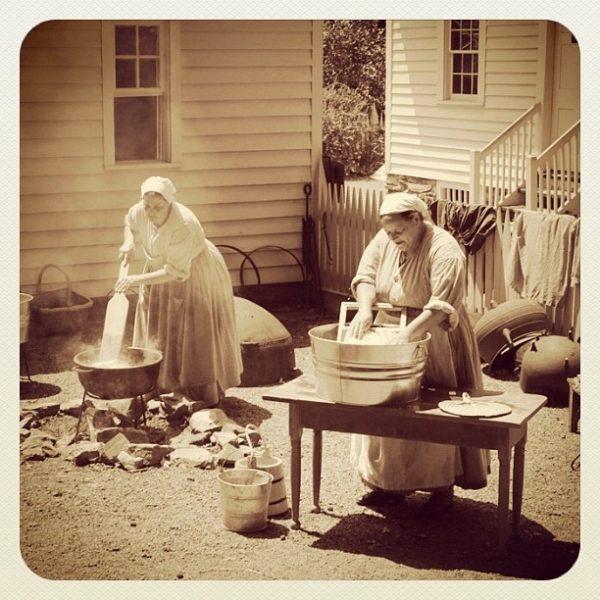 Mosónők (1860-as évek, Atlanta) Forrás: www.pinterest.com | Ruth Ferris