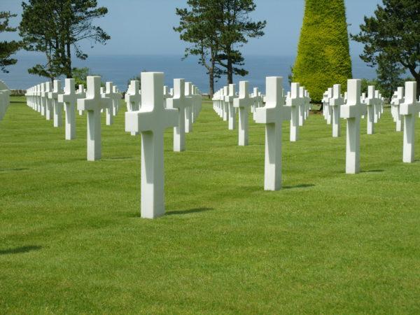 Amerikai katonai temető a partraszállás helyszínének közelében (Forrás: teachinghistorymatters.com)