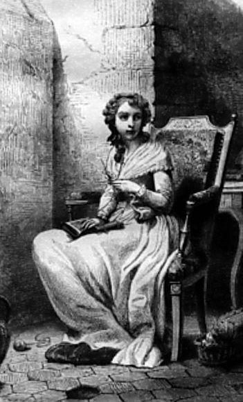 Madam Royale a börtönben (Forrás: pinterest.com - Elena Maria Vidal)