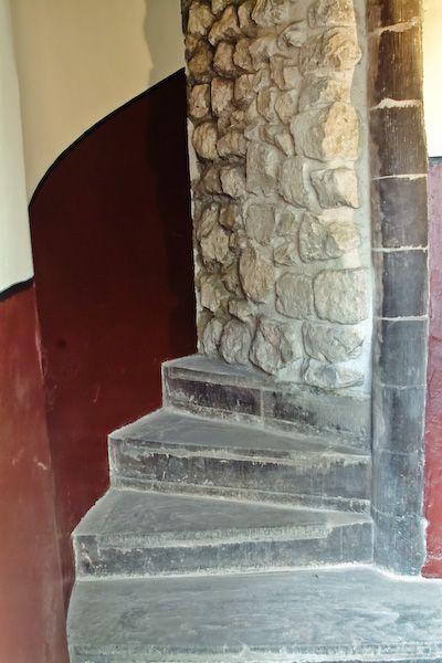 A lépcső a Towerban amely alatt a csontokat megtalálták (Forrás: reshistorica.historyboard.net)