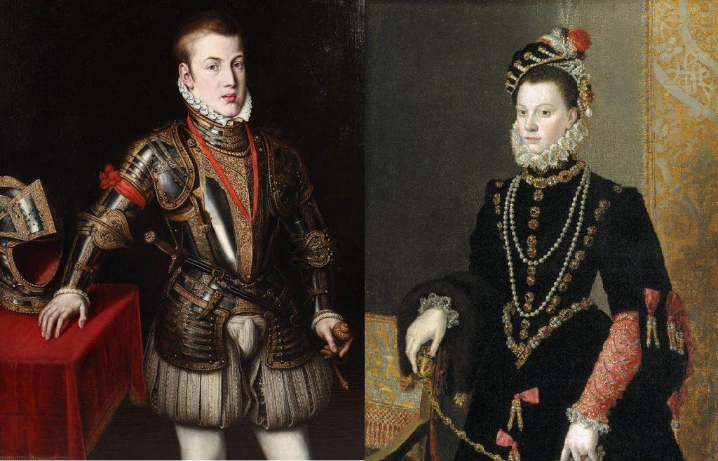 Don Carlos és menyasszonyjelöltje Valois Erzsébet (Forrás: scalaregia.blogspot.com - wikipedia.org)