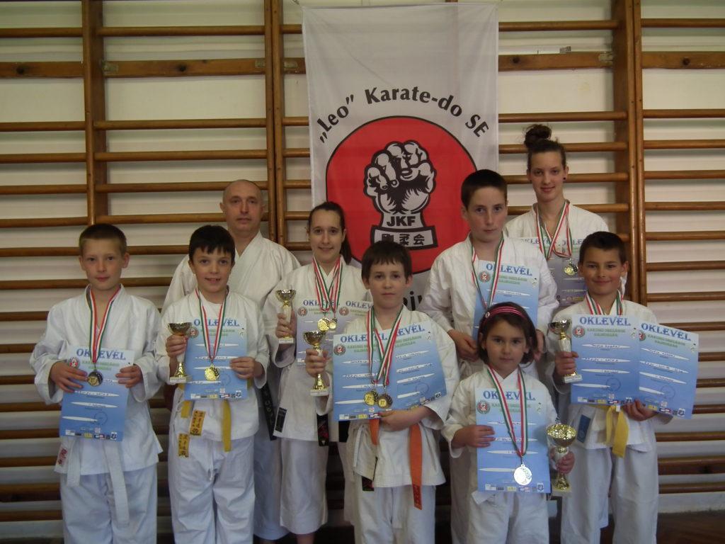 "Kakusei Országos Bajnokság - 2013.04.21. (Fotó: ""Leo"" Karate-do SE)"