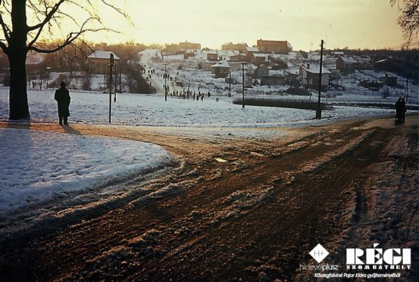 Oladi domb (1977. január) (Kőszegfalviné Pajor Klára gyűjteményéből) Kőszegfalviné Pajor Klára gyűjteményéből