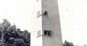 A kilátó 1985-ben (Fotó: BDK képeslap-; és fotótára)