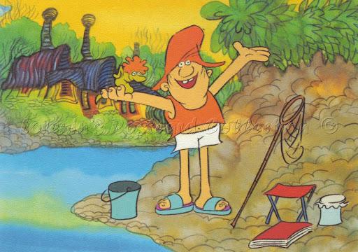 A nagy ho-ho horgász (Forrás: szolnokinaplo.hu)