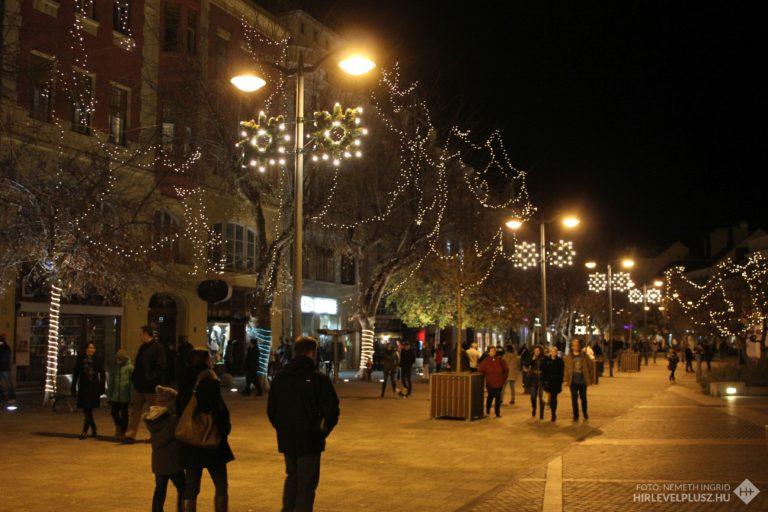 Karácsonyi hangulat Szombathelyen (galéria)