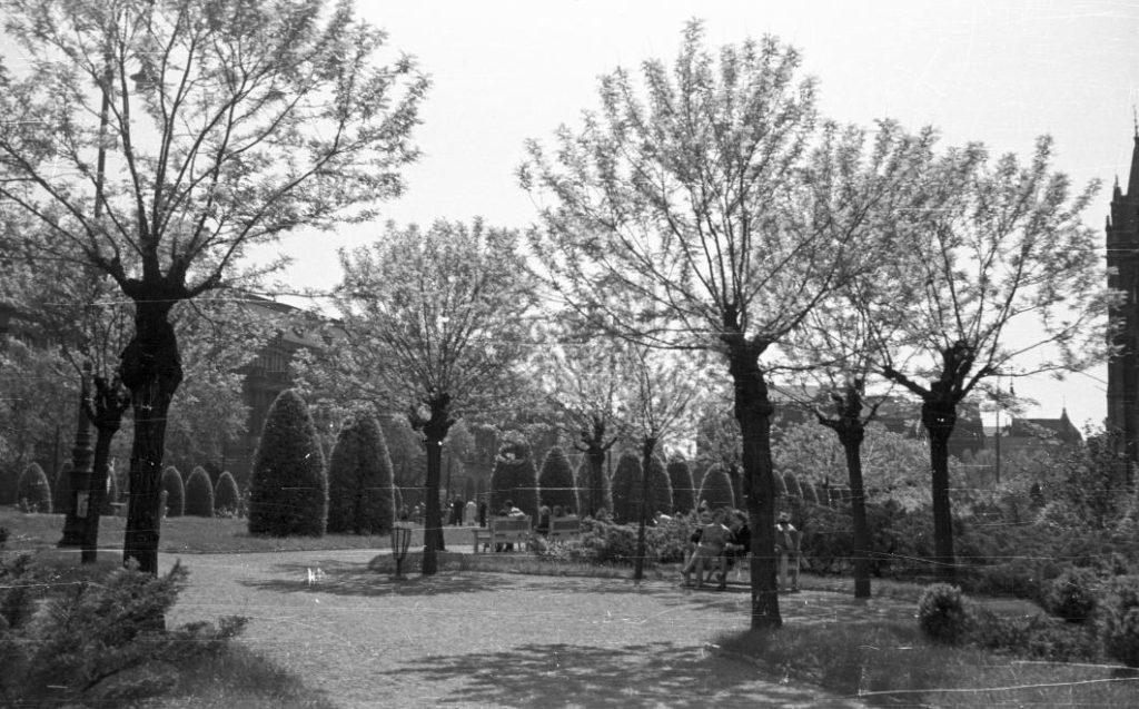 Fortepan - Nagy Gyula - 1959. Bp.V. Kossuth Lajos tér tavasz