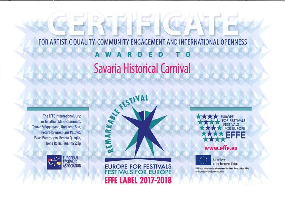 Európa legjobbjai között a Savaria Karnevál! - H Plusz+ efc7454f98