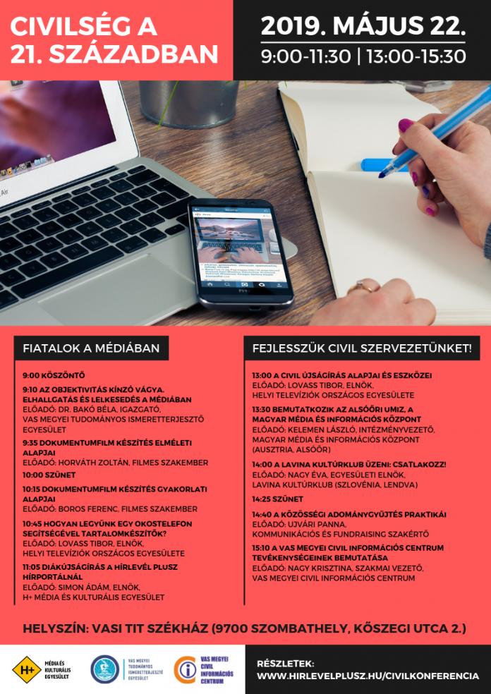 Fiatalok a médiában, a civil szervezetek fejlesztése