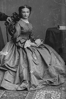 Elizabeth Libbie Custer (Forrás: Laura Yoder / www.pinterest.com)