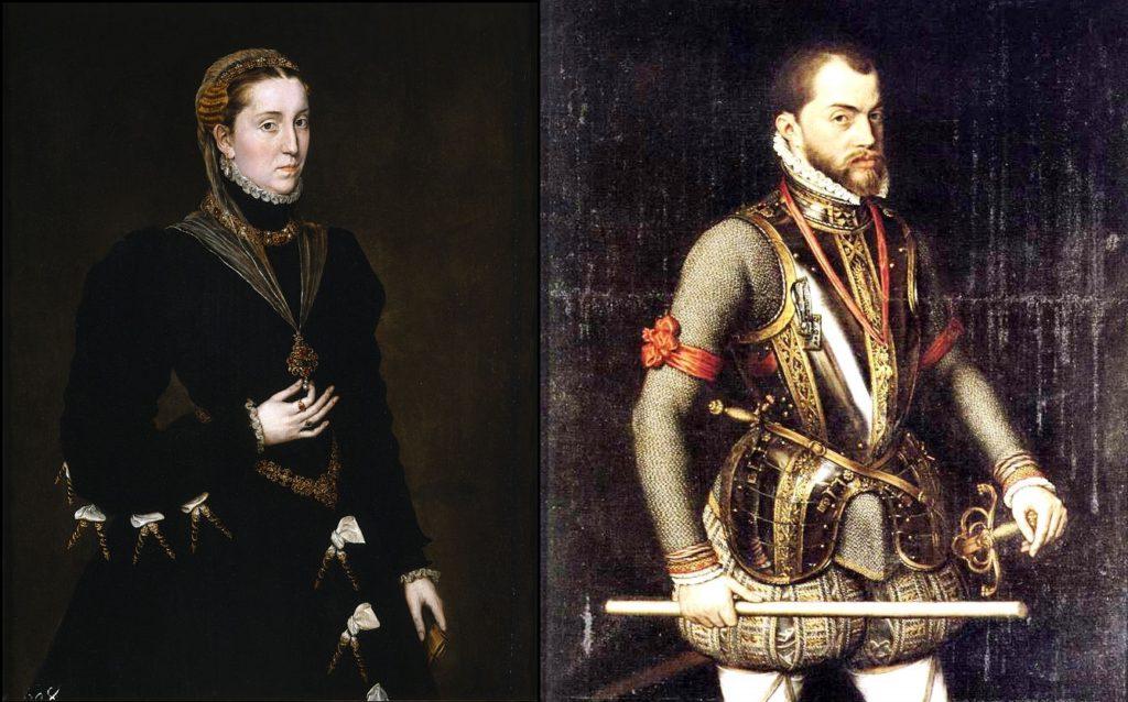 Mária Manuéla és II.Fülöp - Don Carlos szülei (Forrás: wikipedia.org)