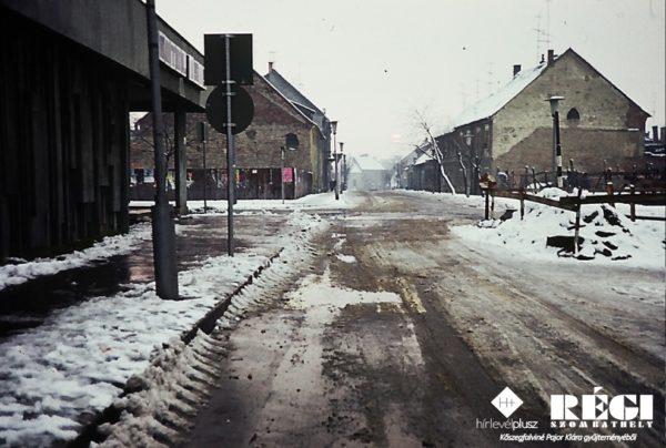 Thököly utca (1977. január) (Kőszegfalviné Pajor Klára gyűjteményéből)