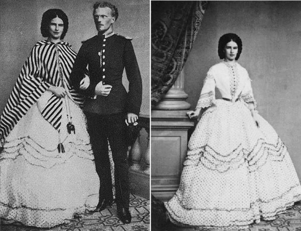 Sisi testvére, Carl Theodor társaságában 1860-ban. (Forrás: Silvery Tongue /Pinterest, indulgy.com)