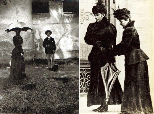 Sisi idővel nem engedte magát lefotózni, a 2. kép az utolsó ismert fotó, mely a halála előtti napokban készült róla, titokban. (Forrás: sissiofaustria.tumblr.com, Beate Brooks/ Pinterest)