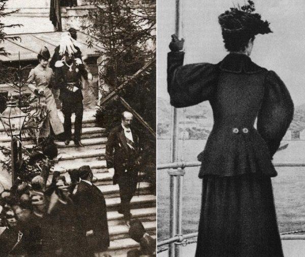 Az első fotón Ferenc Józseffel, a másodikat Mária Valéria készítette az édesanyjáról az 1890-es években. (Forrás: www.gogmsite.net, Mariela Viarenghi/Pinterest)